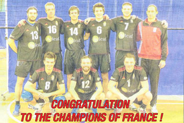 Congratulations to the Champions of France!